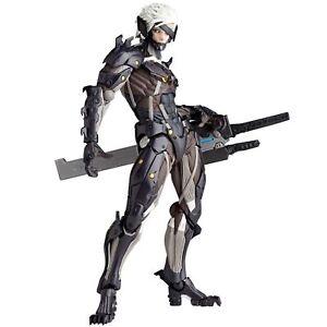 Revoltech Yamaguchi No.140 Métal Levant Revengeance Raiden Figurine Kaiyodo