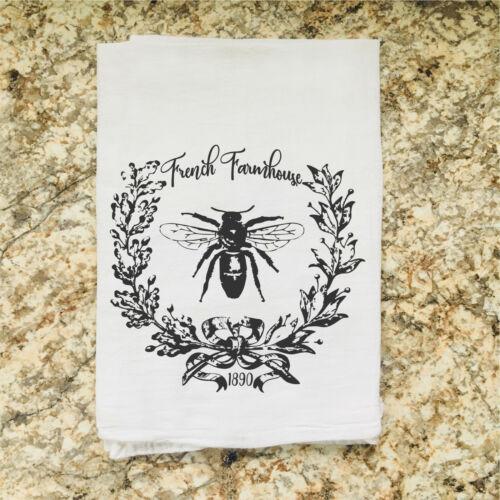 Wholesale Flour Sack Tea TowelFunnyWineHarvestSpringFaith Free Sh