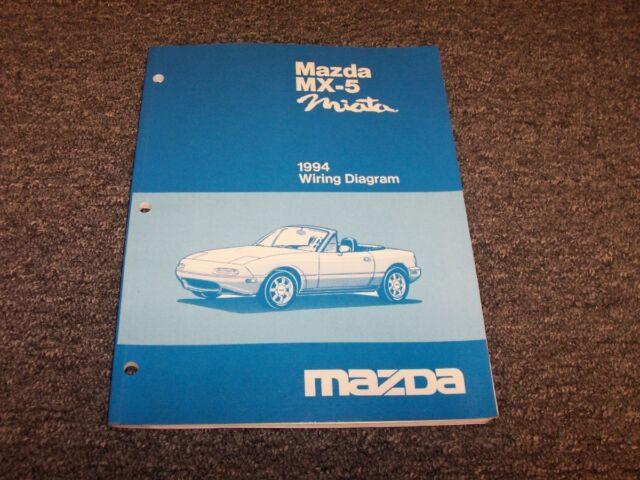 1994 Mazda Mx5 Miata Convertible Original Electrical