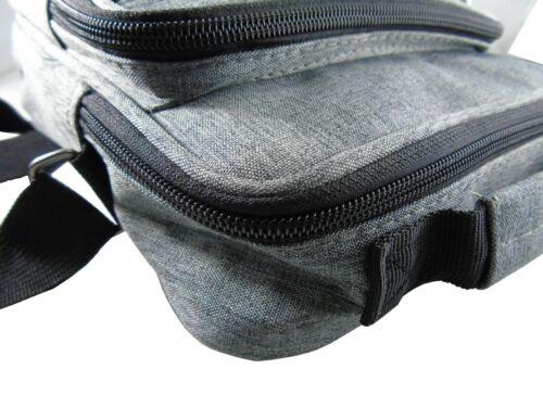 Uomini LORENZ Borsa a tracolla Messenger Bag Crossbody Borsetta Borsa piccola stile semplice