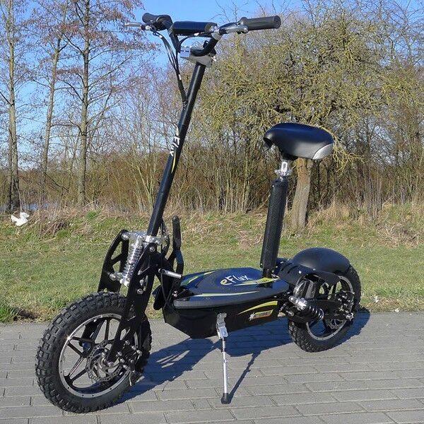 Elektro Roller Scooter EFlux Vision 1000 Watt mit Freilauf