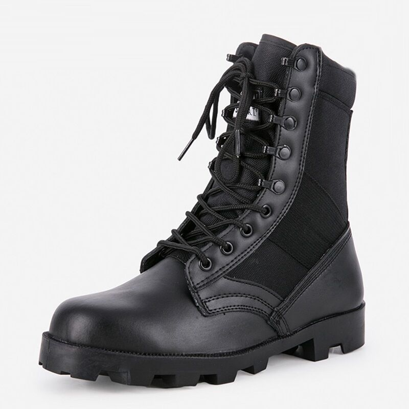 Outdoor Men S High Top Tactical Boots Army Military Hiking