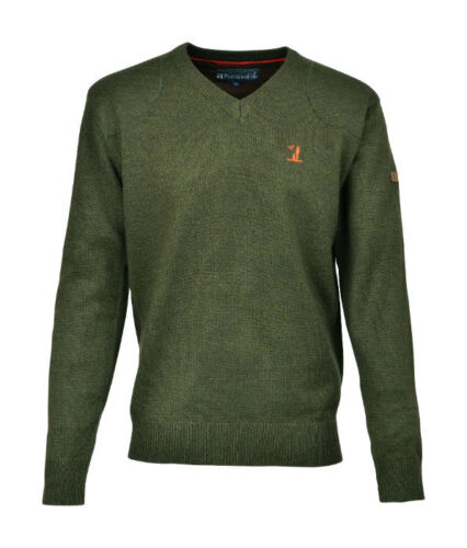 PERCUSSION V NECK JUMPER WITH SHOOTER MOTIF IDEAL FOR SHOOTING