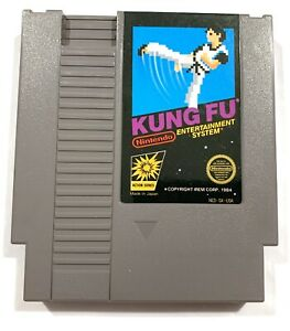 Kung-Fu-ORIGINAL-Nintendo-NES-Game-Tested-Working-amp-Authentic