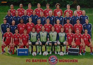 FC-BAYERN-MUNCHEN-A3-Poster-ca-42-x-28-cm-Clippings-Fan-Sammlung-NEU