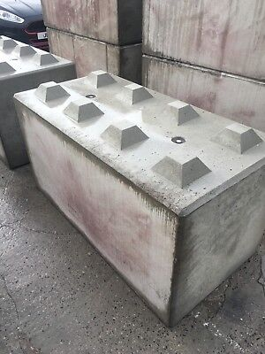 Concrete Interlocking Lego Block Retaining Gabian Walls 1600x800x800 | eBay