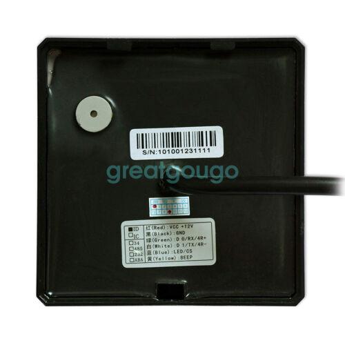Waterproof Keypad /& RFID ID//EM Proximity Card Reader WG26 for Access Controller
