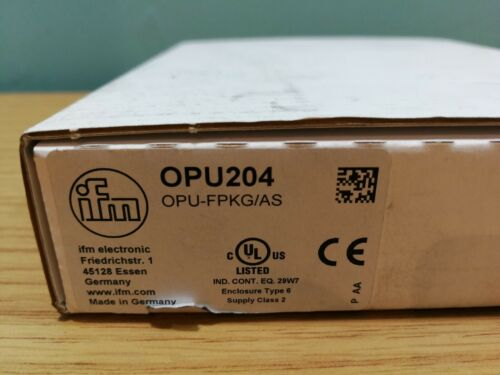 IFM Electronic Optical Fork Sensor OPU204 OPU-FPKG//AS