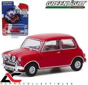 Greenlight 1:64 The Italian Job 1967 Austin Mini Cooper S 1275 MkI Blue 44880A
