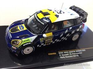 IXO-MODELS-MINI-JOHN-COOPER-WORKS-Sandell-RAM493-Rallye-Sweden-2012-DIECAST