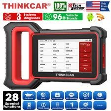 Obd2 Automotive Scanner Car Diagnostic Reset Tool Ecm Abs Srs System Code Reader