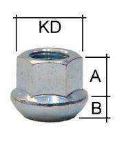 10 ZINK Radmutter Mutter M12x1,5 offen SW19 Kegelbund Kegel 60/° Alu Stahl Felgen