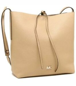 57a75d587f9e12 Image is loading NEW-MICHAEL-KORS-STUDIO-JUNIE-HOBO-MESSENGER-LEATHER-