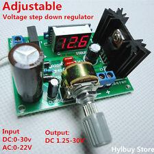 led display lm317 adjustable voltage regulator step down module 1pcsled display lm317 adjustable voltage regulator step down module 1pcs