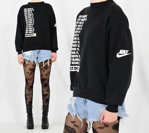 dc0c01af2bcf8d 90s Vintage Nike Sweatshirt Just Do It Graphic Sweatshirt Men s L ...