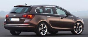 Opel-Astra-J-Familiar-Cromo-Marco-Ventana-Completo-Recortar-S-Acero-12-Piezas