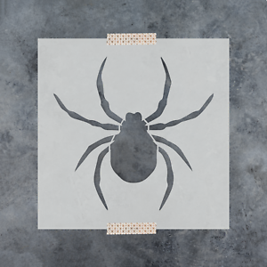 Spider Stencil Reusable Stencils of Spider in Multiple Sizes