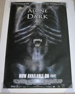alone in the dark movie poster
