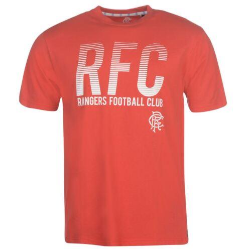 S-2XL Glasgow Rangers FC Big Chest  T-Shirt Mens Top TShirt Football Soccer s