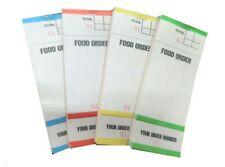 4 Pack Food Order Pads Numbered 1 100 Cafe Bar Restaurant Waiter Drink Book Bf84