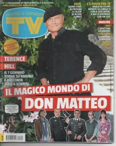 2016 01 15 - SORRISI E CANZONI TV N.2 15/01/2016 TERENCE HILL DON MATTEO - Italia - 2016 01 15 - SORRISI E CANZONI TV N.2 15/01/2016 TERENCE HILL DON MATTEO - Italia