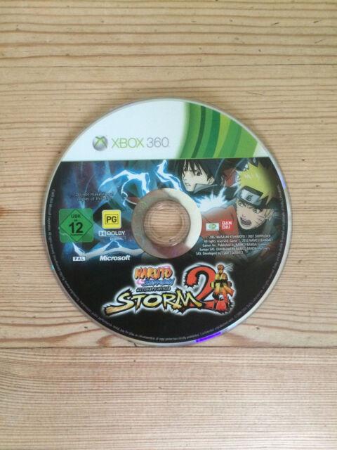 Naruto Shippuden: ultimate Ninja storm 2 pour XBOX 360 * Disque Seulement *