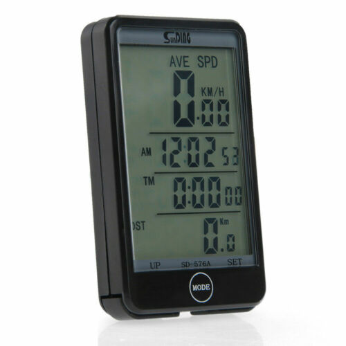NEW Wired Bike Computer Speedo Odometer Touch Screen Speedometer Cycle Bicycle