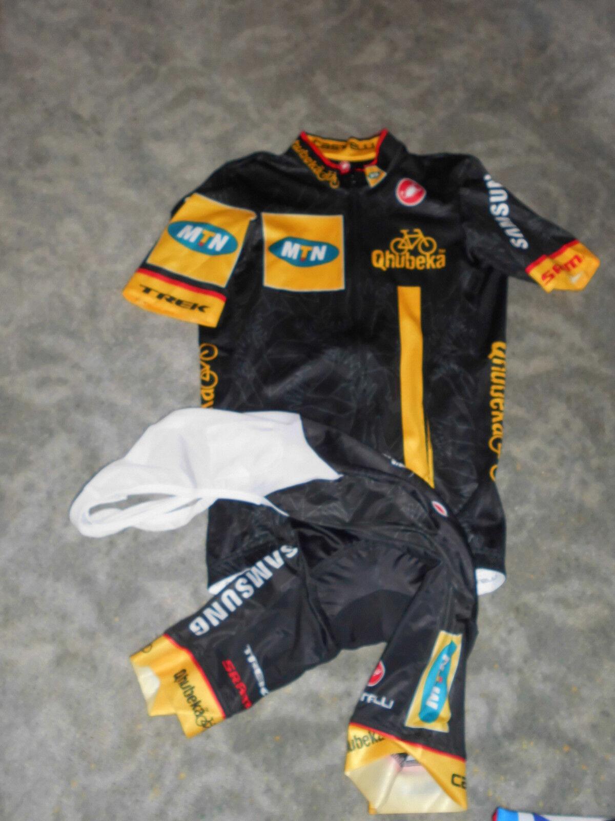 Original Castelli equipo MTN Qhubeka set camiseta + pantalones
