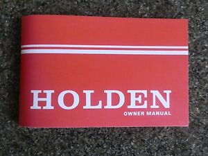 holden hq owners manual 100 guarantee ebay rh ebay com au holden owners manual wallet holden owners manual