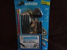 Prismacolor 1822417 Scholar Manga Drawing Set 10-Piece Kit