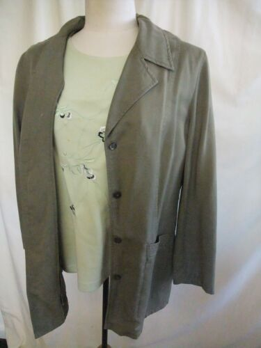 16 Steilmann Vestito Jacket Green gonna Khaki Uk Casual 1753 da donna 18 Top YrRExqtwfR