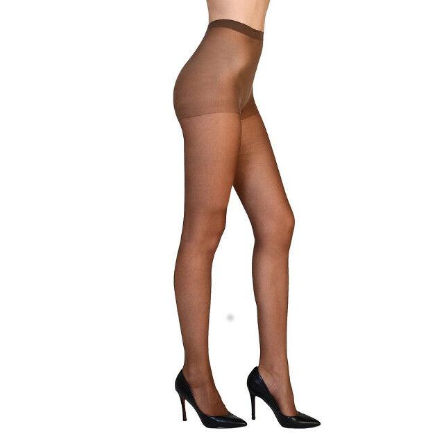 25326a30a3f192 Vivien Women's High Support Reinforced Toe Pantyhose Sheer Hosiery  Stockings Mocha for sale online | eBay