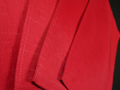 RED NEW KILDARE PLACE MAT SET OF 4 POLYESTER  33 CM X 46 CM  FREE DELIVERY