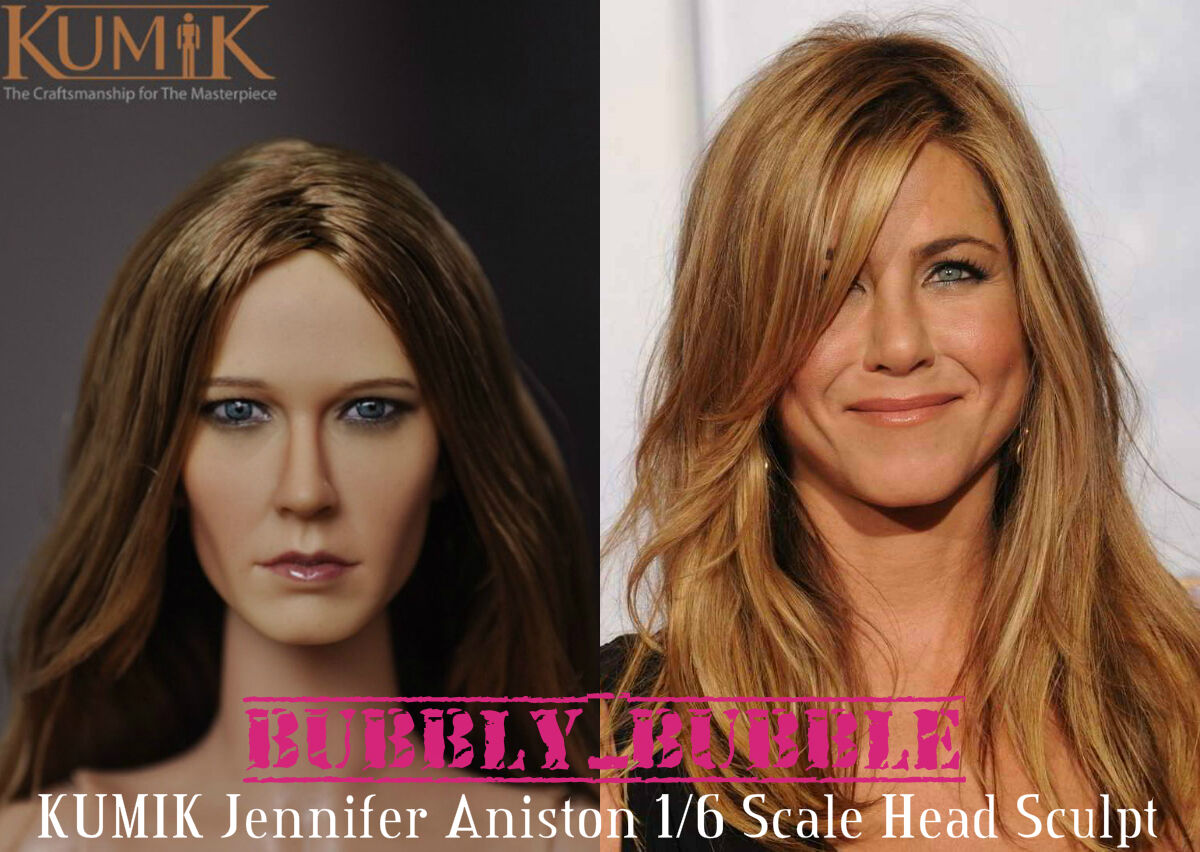 KUMIK Jennifer Aniston 1 6 Scale Head Sculpt For Hot Toy Phicen SHIP FROM USA