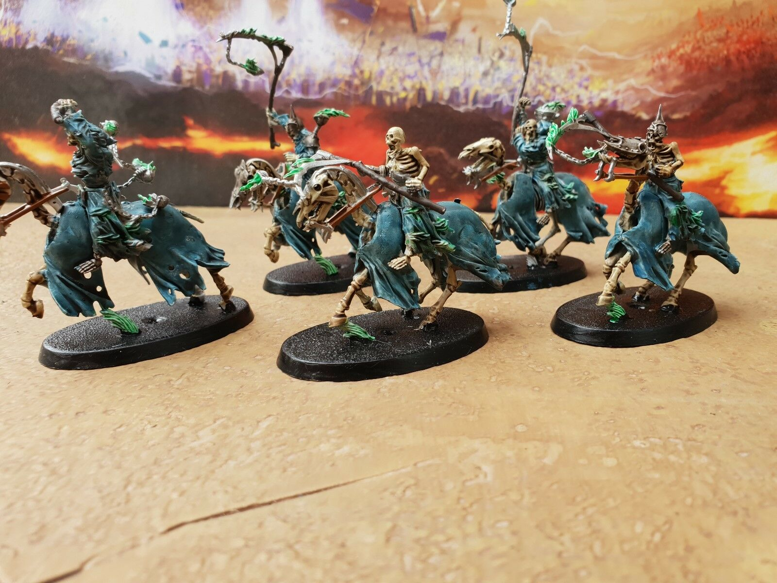 Warhammer hexwraiths pro painted made to order