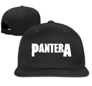 289824368a9 Image is loading Pantera-Band-Unisex-Adjustable-Flat-Visor-Hat-Baseball-