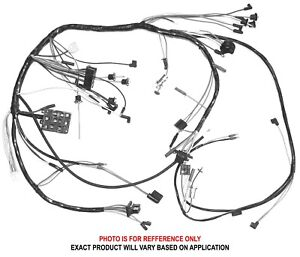 1968 mustang tach wiring diagram 1968 ford mustang dash wiring harness gt with tachometer 68  1968 ford mustang dash wiring harness