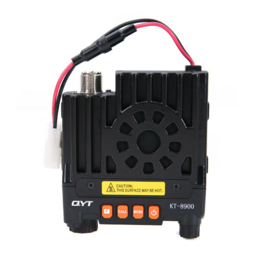 QYT KT-8900 Dual-Band VHF UHF Car//Trunk Ham Mobile Transceiver Two Way Radio 25W