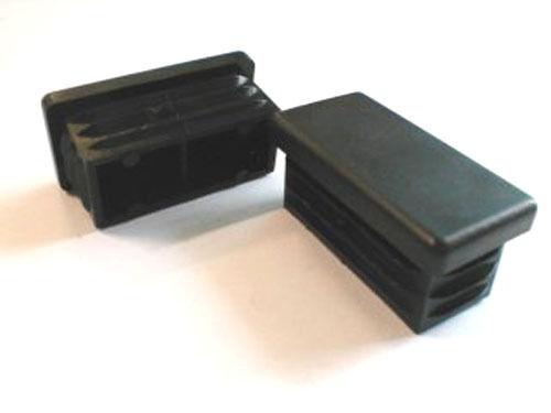 10x Stopfen für Kantrohr 40x20  WS 3 mm Lamellenstopfen