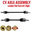 Pair Front CV Axle Shaft for MAZDA MX-3 92-93 PROTEGE 95-98 L4 1.5L 1.6L