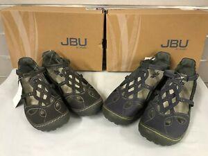 bfd821d34ff22 Details about JBU by Jambu Women's SYDNEY Charcoal or Denim/Blue Sandals  NEW Sizes 8-11