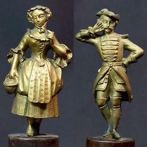 B-18em-couple-statuette-statue-bronze-dore-18c900g-militaire-dame-romantique