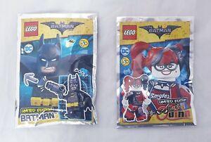 Lego-Batman-Harley-Quinn-MINIFIGURES-COPPIA-EDIZIONE-LIMITATA-SIGILLATO-Nuovo-di-Zecca