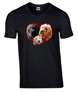 Cockapoo-Dogs-Heart-Tshirt-T-shirt-Crew-V-Neck-Birthday-Gift-Cockerpoo-Tee