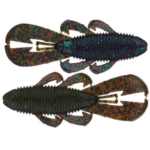 Googan Baits Bandito Bug 4 Inch Soft Plastic Creature Bait Bass Natural for sale online