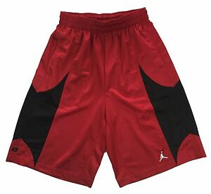 Nike-Mens-Air-Jordan-Durasheen-Jumpman-Basketball-Shorts-638144-695-Red-New
