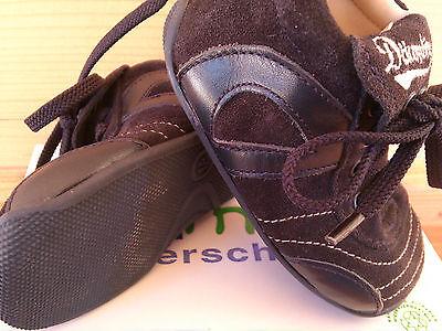 Däumling Gr. 18 Jungen blau Lauflerner Halbschuhe Schuhe weich M0409/148