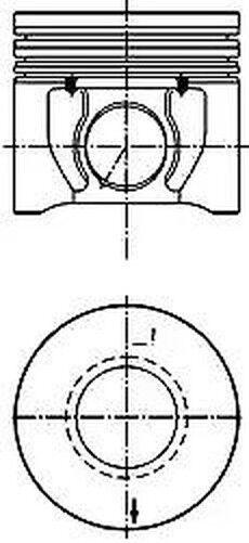 Piston Kolbenschmidt 40172600