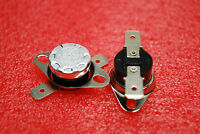 2x Thermostat Ksd301 Temperature Thermal Switch 122°f 50°c Normal Close N.c A325