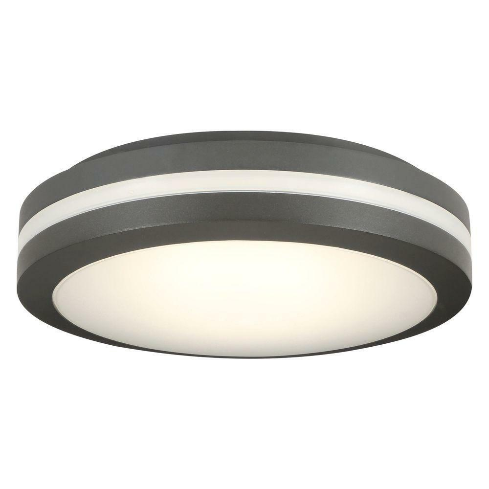 Lithonia Lighting olcfm 16.6 vatios Bronce INTEG. LED de montaje al ras de techo al aire libre